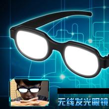 Japon Anime lumière LED lunettes lunettes Cosplay Costumes détective Conan YouTube Twitter Instagram Facebook en ligne spectacle drôle accessoires