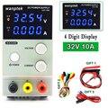 NEUE 32V 10A DC Netzteil Einstellbar 4 Stellige Anzeige Mini Labor Power Supply Voltage Regulator K3010D verbesserte version