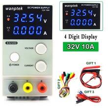NEW 32V 10A DC Power Supply Adjustable 4 Digit Display Mini Laboratory Power Supply Voltage Regulator K3010D upgraded version