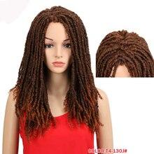 Afro Crochet Braids Wig Braids Wig Synthetic Wigs For Black Women Crochet Braids Twist Jumbo Dread Faux Locs Hairstyle miracle
