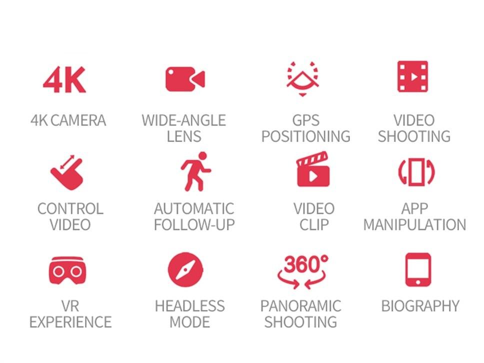 Nova S167 4K Com Câmera GPS Drone