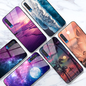 Case For Samsung Galaxy A50 A51 A71 A10S A20S A30S A50S A20 A30 A40 A70 A10 Case Bright Vanish Glossy Cover