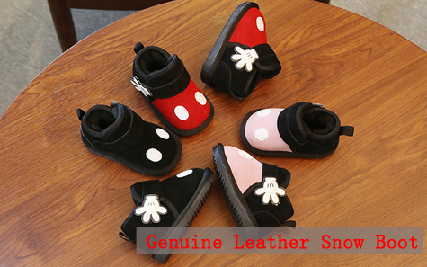 Arco princesa sapatos de couro sapatos de