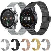 Per Xiaomi Watch cinturino colorato cinturino Milanese cinturino in acciaio inossidabile 22mm cinturino Mi Watch cinturino in metallo colorato