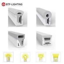 Tubo de cuerda de LED neón WS2812B, IP67, Gel de sílice suave, 5 metros, WS2811, tira Flexible, tubo de lámpara impermeable para decoración del hogar