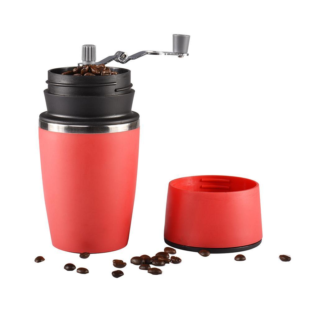 Manual Coffee Grinder Mini Kitchen Salt Pepper Grinder Powerful Beans Spices Nut Seed Coffee Bean Grind Molinillo Cafe