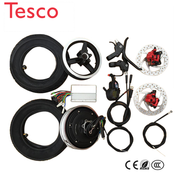 electric bike conversion kit 10 inch Electric Hub Motor wheel 36V 48V Scooter wheel motor accessories Brushless motor high speed 1kw 1 2kw 1 5kw 1 8kw 2 2kw 2 5kw 3kw 48v 60v 72v electric three four wheel brushless high speed motor fully enclosed hall