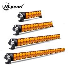 NLpearl Led Light Bar/Work Light 30W 90W 180W CREE Led Bar 5D Spot Beam for Car Truck