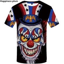 2019 Summer NEW Men/women 3D Printed  skull tshirt fashion Men Tshirts Male Hip hop Streetwear O-Neck T Shirts tops Tees
