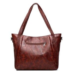 Image 4 - Gykaeo Luxus Handtaschen Frauen Taschen Designer Vintage Tote Tasche Damen PU Leder Große Kapazität Messenger Schulter Taschen Bolso Mujer