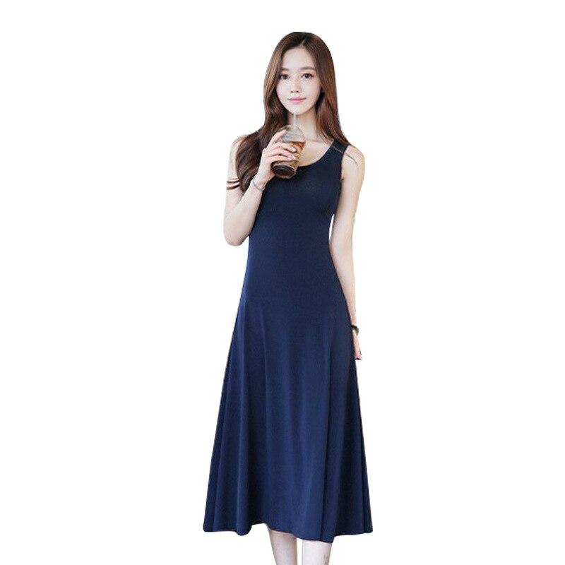 BOBOKATEER šaty bez rukávů dámské šaty léto 2019 roucho ete femme vestidos de verano sexy černé šaty vestido mujer