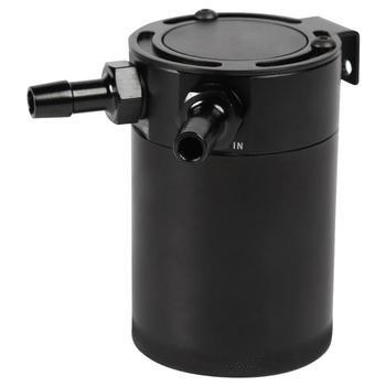 2 porta perplexo tanque de captura de óleo reservatório universal billet captura de óleo pode auto desconcertado separador de ar-óleo