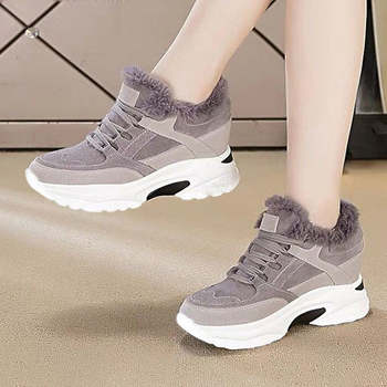 Snow Boots Women Sneakers Warm Furry