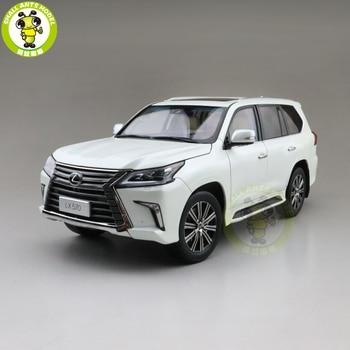 1/18 Kyosho LX570 Diecast Model Speelgoed Auto Suv Jongens Meisjes Geschenken