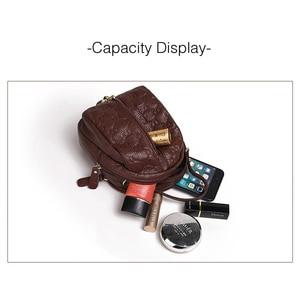 Image 4 - Genuine Leather Crossbody Bags for Women Fashion Female Bag Tassel Single Shoulder Bag Girls Small Purses and Handbags Designer