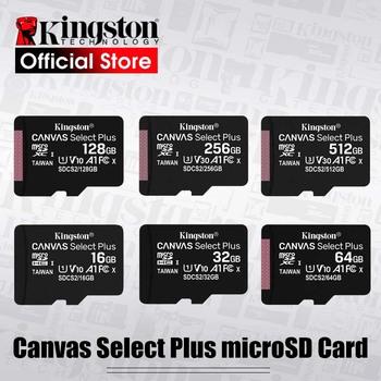 Kingston-Micro SD karta pamięci klasy 10 128GB 32GB 64GB 256GB 16 G sD TF Flash 8G 512 G Mikro SD do telefonów tanie i dobre opinie Class 10 UHS-1 U1 A1 microSDXC microSDHC V30 SDC10G2 CN (pochodzenie) Tf micro sd card Priority shipping very Priority shipping Free Shipping