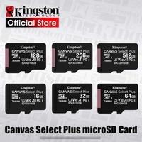 Kingston Micro SD Karte Speicher Karte Class10 carte sd memoria 128GB 32GB 64GB 256GB 16G SD/TF-Karte 8G 512G microSD für Telefon