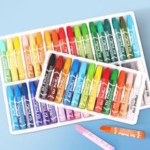 12 18 24 36 młodych sztuka dla dzieci kredka olej pastelowe wielu kolorowy obraz długopis dziecko pędzel kreatywny prezent dla szkoły sezon tanie tanio 36 kolory 6 kolory box Pastelowe oleju Zestaw