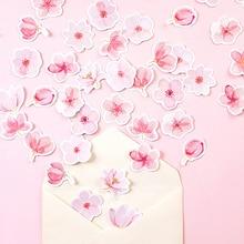 Decorative Stickers Bullet Journal Sakura Words Cherry DIY 45pcs/Pack