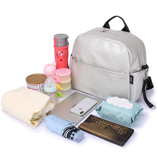Mommy Maternity Diaper Bags Solid Fashion Large Capacity Women Nursing Bag for Baby Care Stylish Outdoor