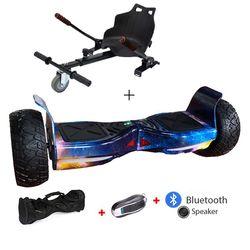 8.5 inch Hummer hoverboard scooter elettrico di skateboard Giroscopio di Auto Bilanciamento del Motorino di skateboard Bluetooth Hover Bordo