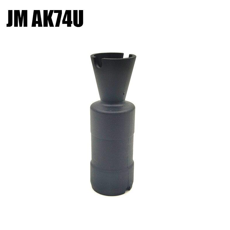 Original Jinming 12 AK74U black Nylon parts Water Gel Blaster gel ball Toy Gun Accessories for children outdoor toys