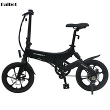 ONEBOT S6 Folding Electric Bike Two Wheels Electric Bicycles 16 Inch 36V 250W Po