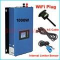 Nova atualização 1000W Inversor Grid Tie com wifi plug 1KW inversor MPPT Energia Solar + sensor de Limitador de inter 24v 48v DC 220V AC 230V