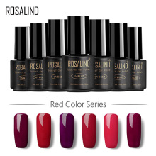 ROSALIND Red Nail Polish Phototherapy Gel Nail Polish Products  Gel Nail Polish гель лак Nail Art ibd белый гелевый лак для дизайна с тонкой кистью 56954 ibd just gel polish white gel art polish w gel brush 19405 14 мл