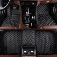 Car Floor Mats For Mitsubishi Pajero Outlander ASX Lancer SPORT EX Zinger FORTIS Grandis Galant Custom floor mats Waterproof sty цена и фото