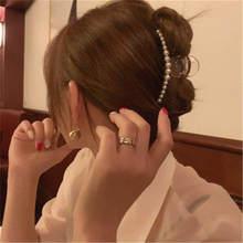 Horquillas acrílicas grandes para el pelo para mujer, pinzas para el pelo estilo cangrejo para pasadores para niñas, accesorios de broches para el cabello