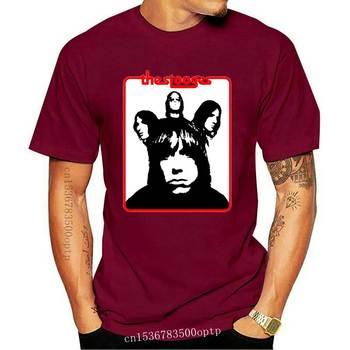 The Stooges garaż Punk Rock Retro Vintage Hipster Unisex T Shirt 1101 wysoka koszulka wysokiej jakości koszulka tanie i dobre opinie CASUAL SHORT CN (pochodzenie) COTTON Cztery pory roku Na co dzień Z okrągłym kołnierzykiem tops Z KRÓTKIM RĘKAWEM