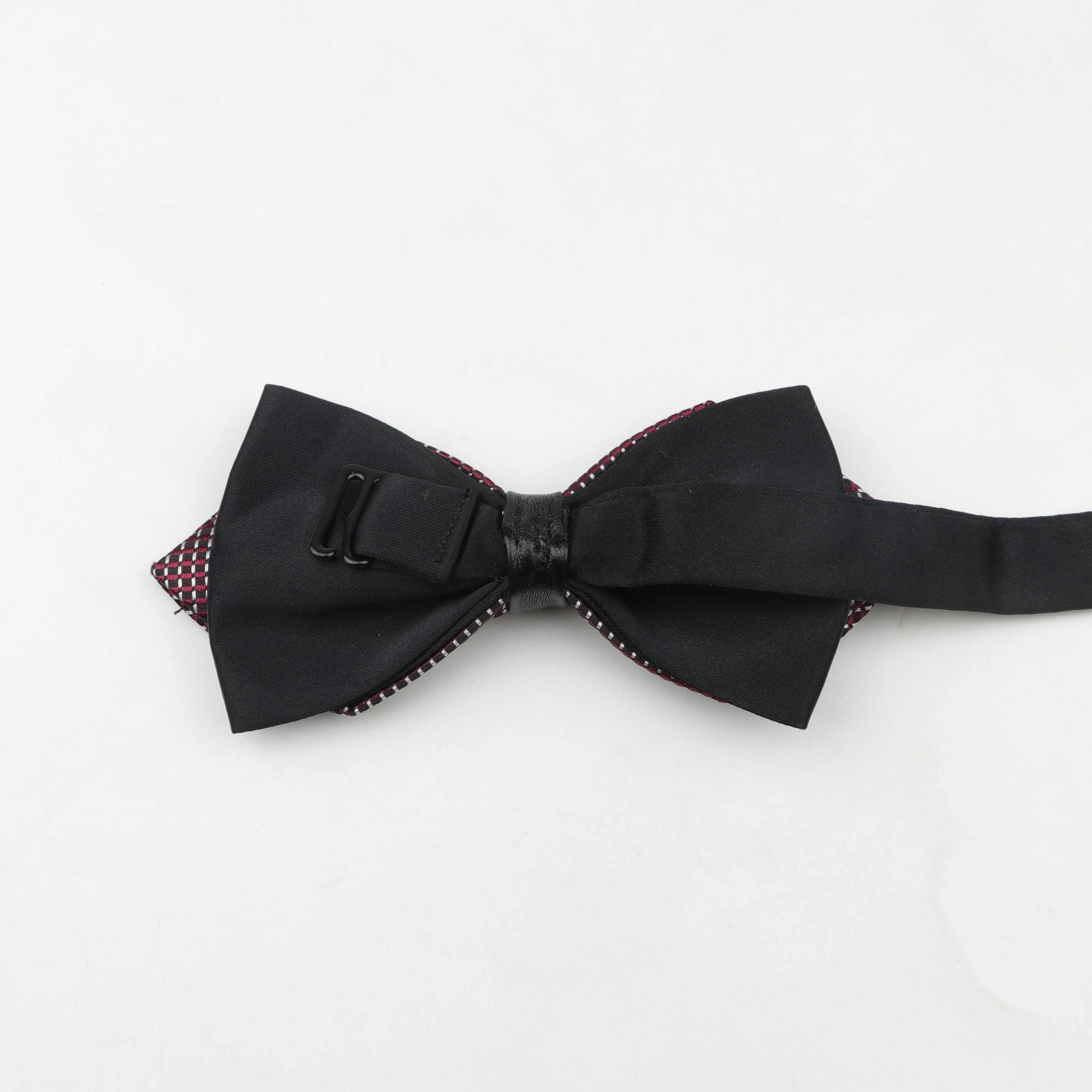 Leather Butterfly Knot  Bow tie Leather