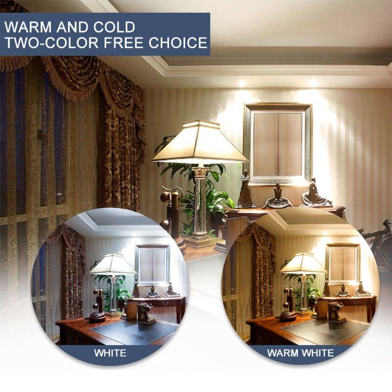 3000 K Home Lighting Bulb 220V GU10 MR16 E27 E14 B22 LED Spotlight Bulb 48-80 Lamp Beads 48/60/80 Chip Spotlight Bulb