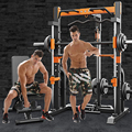 Smith Machine Squat Rack Consumer Commercial Gym Training Equipment Weightlift Barbell Bench Press Bearing Capacity 700kg Gantry