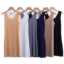 M-5XL grande taille chemise de nuit sexy col en v glace soie chemises de nuit femmes sans manches gilet robe courte mini chemise de nuit femme robe de nuit