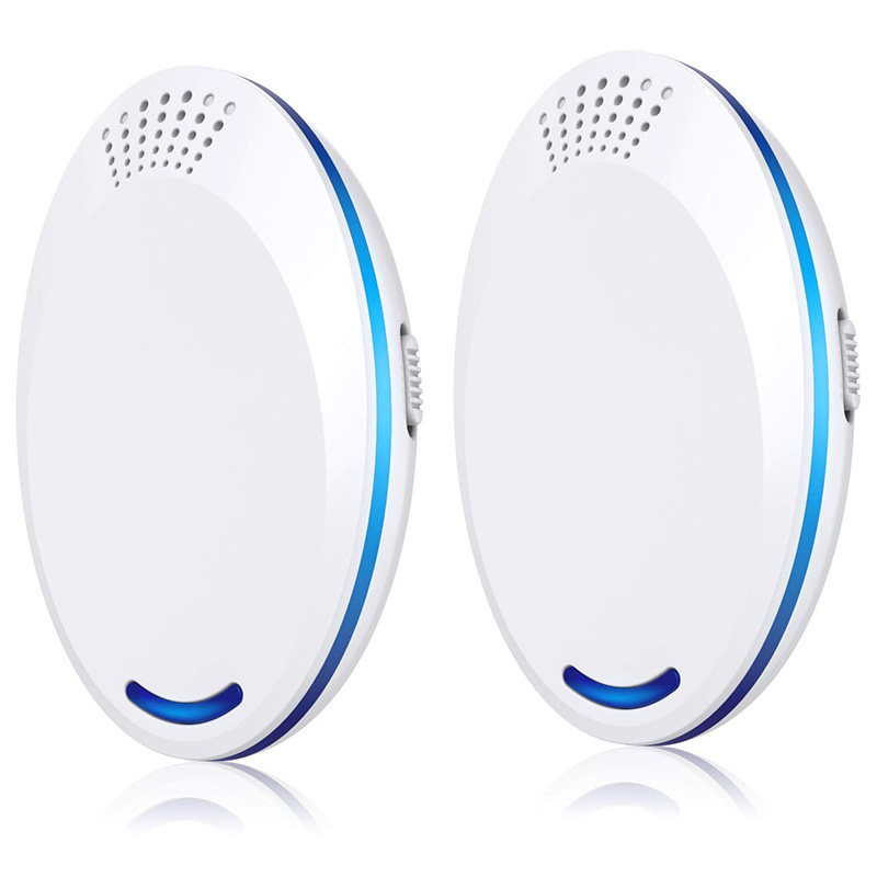 Ultrasonic Pest Repeller 2 Packs  Indoor Anti Insect  Pest Control  Against Rats  Mouse  Flies  Moths  Mosquito US Plug|Repellents| |  - title=