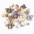 Лидер продаж, металлическое Смешанное очаровательное медное ожерелье с Пчелкой для браслета, ювелирные изделия ручной работы, оптовая прод...