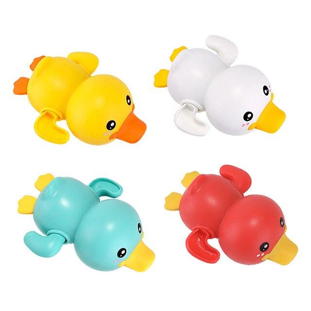 Mainan Clockword Swimming Duck Mengapung 6