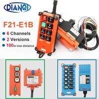 F21 E1B 2S E2B 2 AC 220V 110V 380V 36V DC 12V 24V wireless Industrial remote controller switches Hoist Crane Control Lift Crane