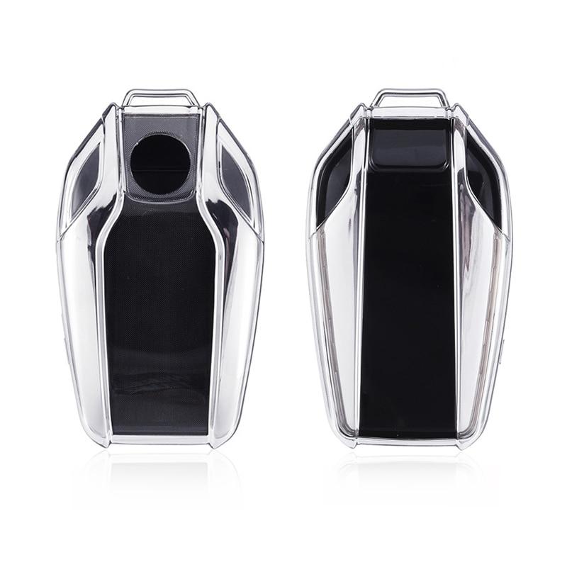 TPU Car Fully Key Case Cover Fully Key Shell Remote Key Protector for BMW X3 X4 X5 I8 G05 G30 740 530i 6 Series GT Display Key