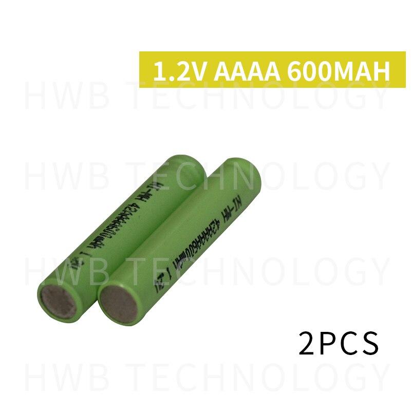 2 шт./лот оригинальный новый KX Ni-MH AAAA 1,2 в 600 мАч Ni-MH перезаряжаемая батарея Бесплатная доставка