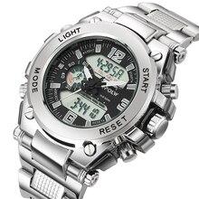Hommes haut marque de luxe numérique montre Relogio Masculino nouveau Sport montre hommes 2018 horloge mâle LED numérique Quartz montres