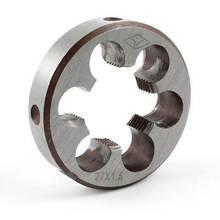 Круглый режущий штамп с грубой резьбой диаметром 55 мм od m27