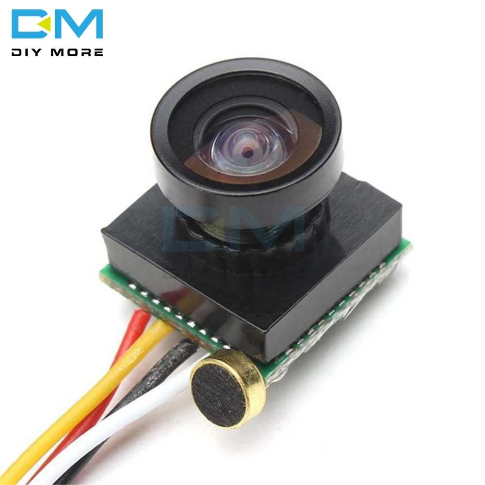 600TVL NTSC 1.8mm Wide Angle Lens Camera 1/4 CMOS Image Sensor Camera