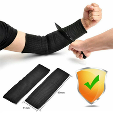 1 Pc Protection Sleeve Kevlar Arm Pair Cut Burn Resistant Safety Kitchen Garden Work Anti Abrasion Arm Resistant Oversleeve цена