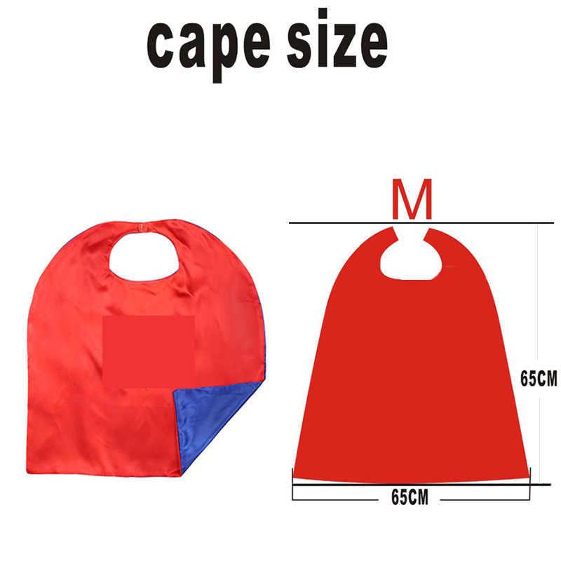 Superhero Cape Mask Superhero Cloak Child Cosplay Costume Superhero   Spider  Cloak Halloween Party Children's Clothing