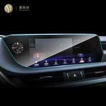 Para lexus es250 300h 350 2018-2021 carro gps navegação película protetora tela lcd filme tpu protetor de tela anti-risco 12.3 Polegada