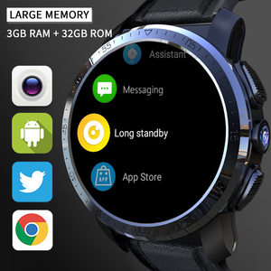 """Image 5 - KOSPET Optimus Pro 3GB 32GB Smart Watch GPS For Men WIFI Heart Rate Monitor 1.39"""" Camera Dual System 4G Smartwatch Android Phone"""