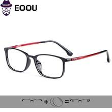 TR90 Design Glasses Frame For Women Men Anti-blue light  Myopia Photochromism Prescription Lens Gafas цены онлайн